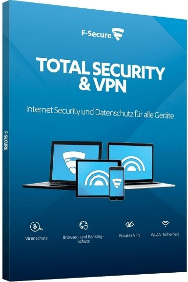 F-Secure Total Security & VPN 2020 | Multi Device | Download