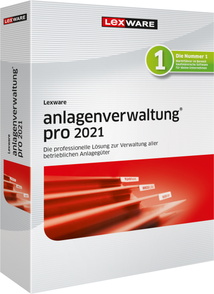 Lexware Anlagenverwaltung Pro 2021 - 365 Tage