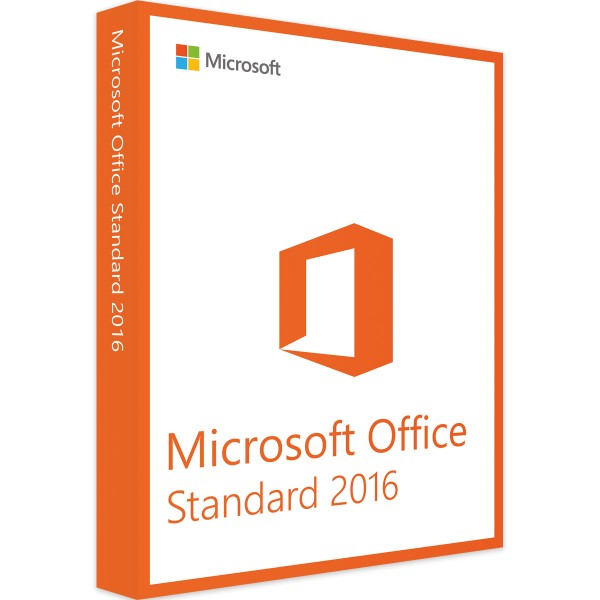 Microsoft Office 2016 Standard - Windows - Vollversion