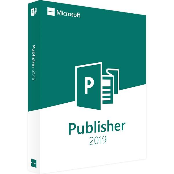 Microsoft Publisher 2019 - Vollversion - 32/64 Bit - Download