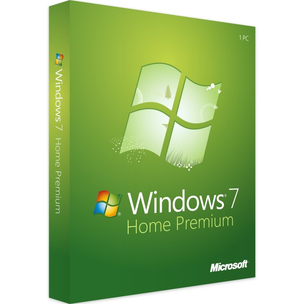 Microsoft Windows 7 Home Premium - 32/64 Bit - Vollversion