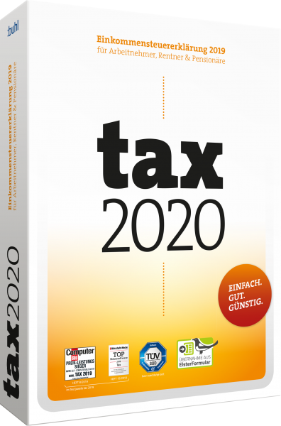 WISO Tax 2020 | Steuerjahr 2019 | Download | Windows