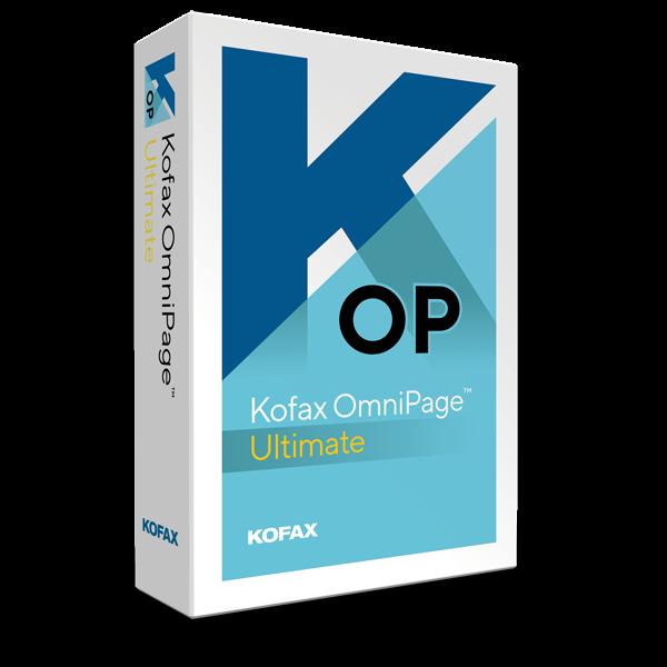 Kofax Omnipage Ultimate | Windows
