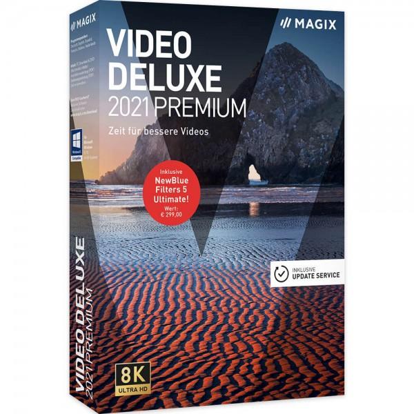 Magix Video Deluxe 2021 Premium | Windows