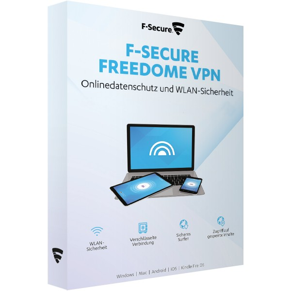 F-Secure Freedome VPN 2020 - Multi Device - Download