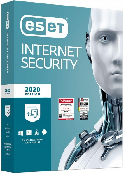 ESET Internet Security 2020 | PC/Mac/Mobilgeräte