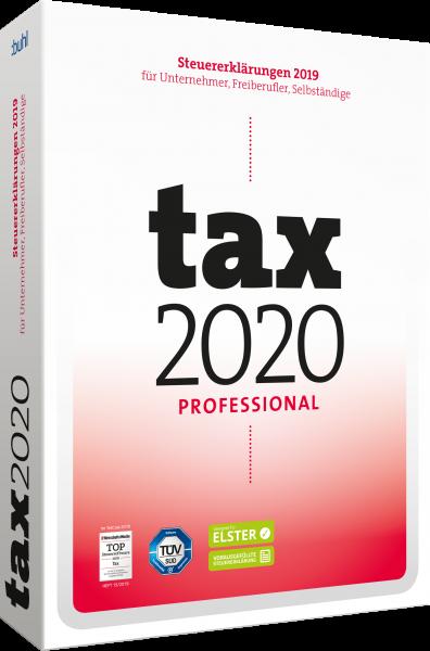 WISO Tax 2020 Professional - Steuerjahr 2019 - Download - Windows