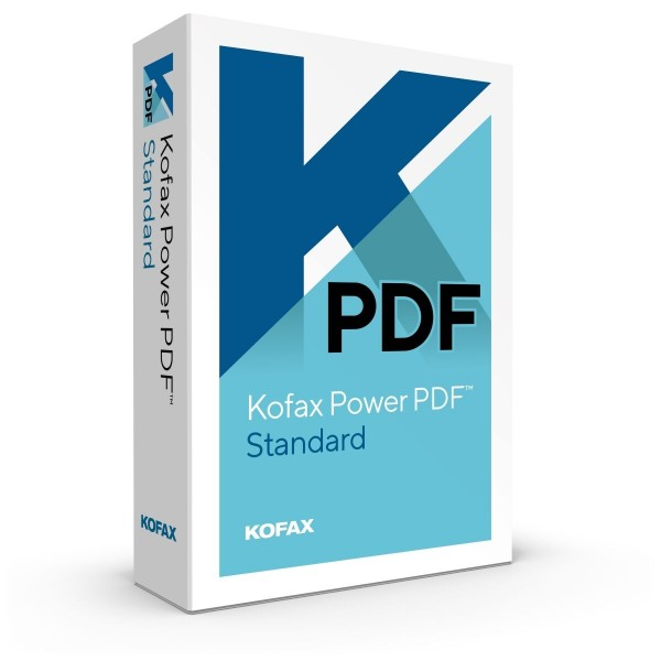 Kofax Power PDF Standard 3.1 (Nuance) - Windows - Download