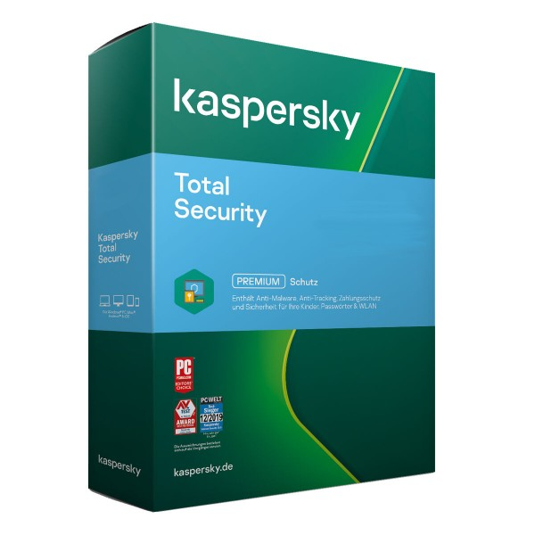 Kaspersky Total Security 2021 | PC/MAC/Android