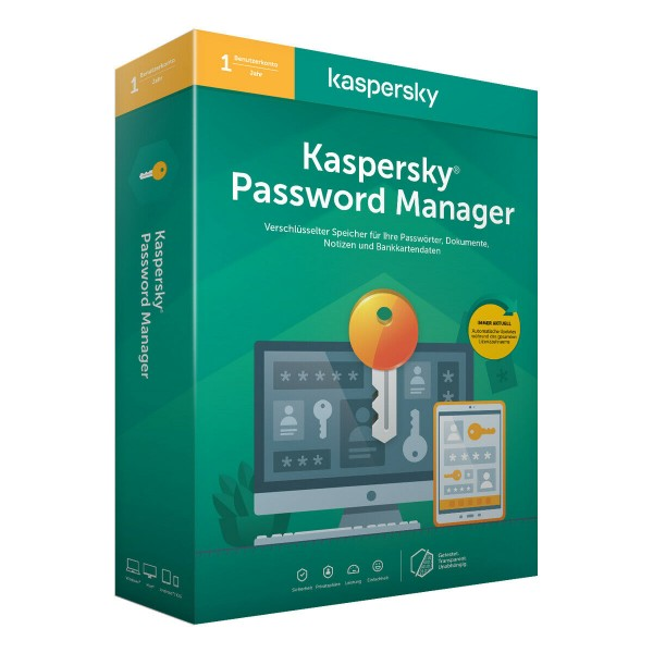 Kaspersky Passwort Manager 2021 - Download