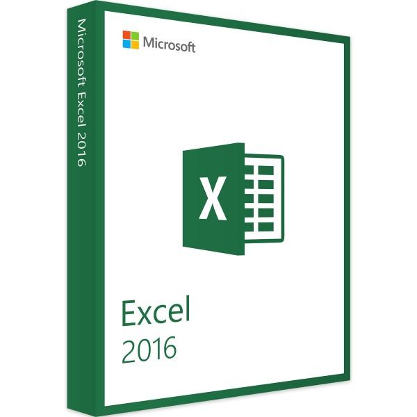 Microsoft Excel 2016 Windows