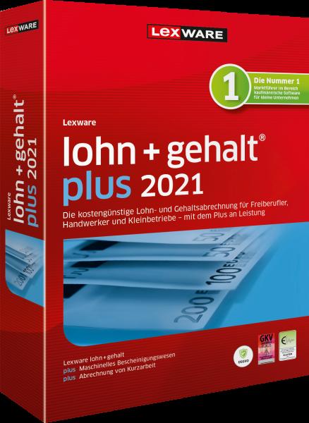 Lexware Lohn + Gehalt Plus 2021 - 365 Tage