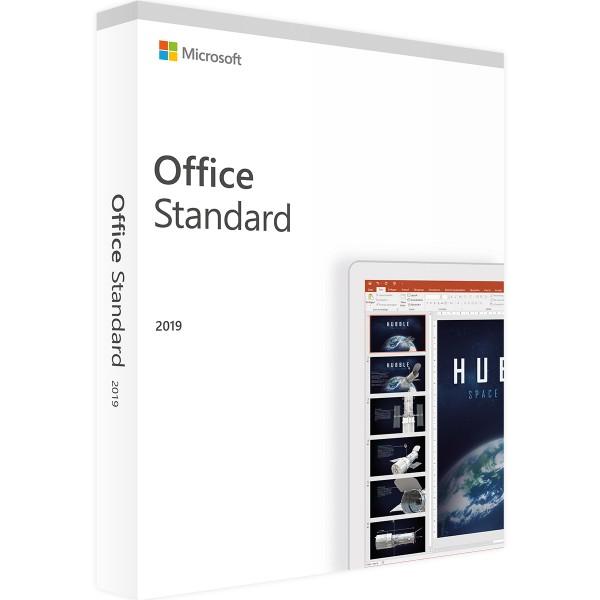 Microsoft Office 2019 Standard - Vollversion - Download