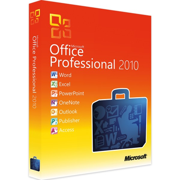 Microsoft Office 2010 Professional (Plus) - Windows