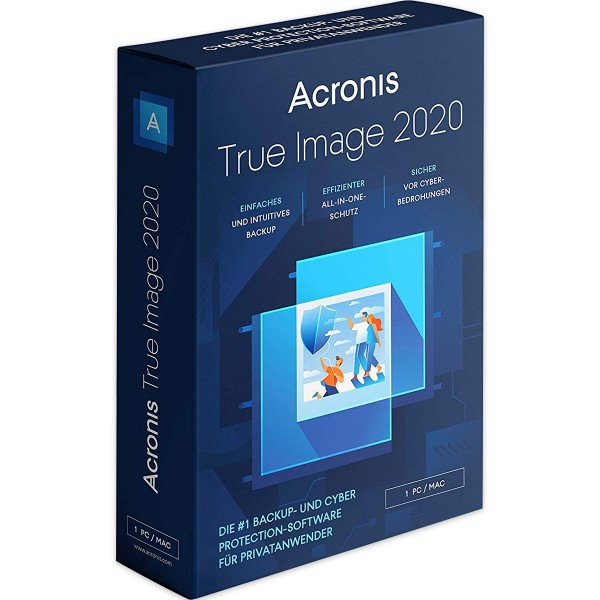 Acronis True Image 2020 Premium Win/Mac | 1 Jahr | 1 TB Cloudspeicher