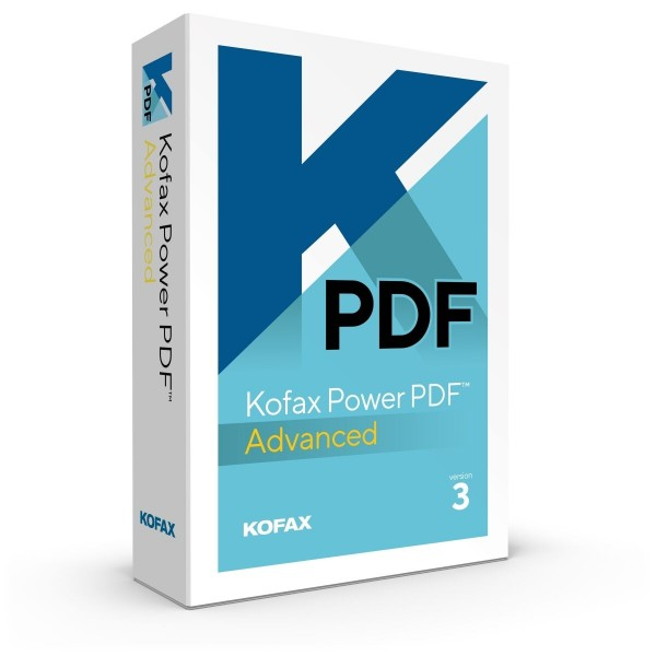 Kofax Power PDF Advanced 3.1 (Nuance) | Windows