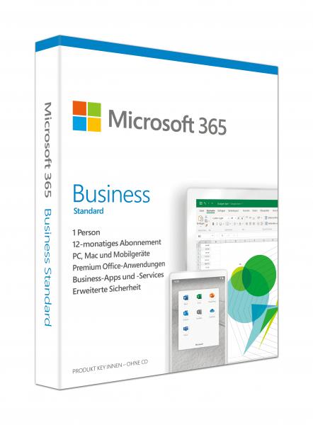 Microsoft Office 365 Business Standard - Download - PC/MAC