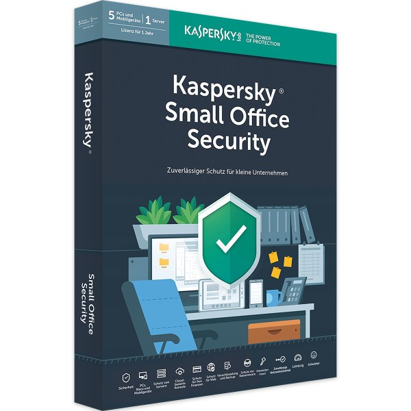 Kaspersky Small Office Security 8 2021 | Vollversion