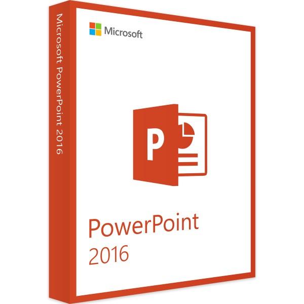 Microsoft PowerPoint 2016 - Vollversion - 32/64 Bit - Download