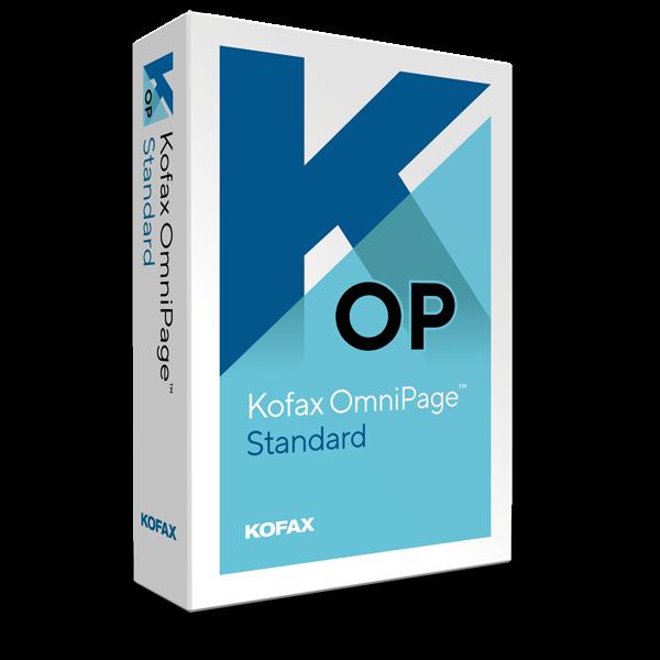 Kofax OmniPage Standard | Wndows