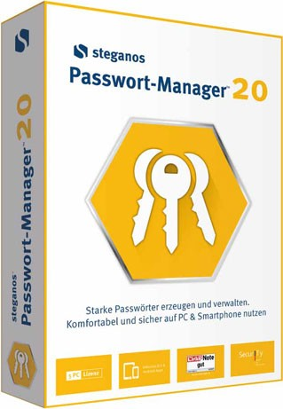 Steganos Passwort Manager 2020 - Download
