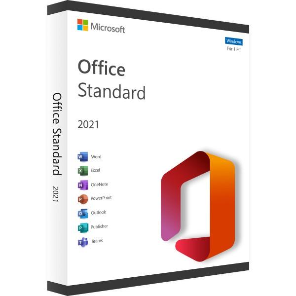 Microsoft Office 2021 Standard Windows