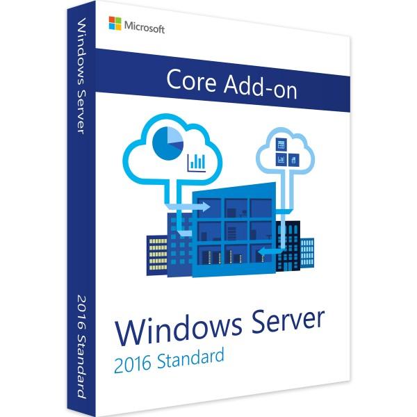 Windows Server 2016 Standard Core Add-on-Erweiterungslizenz