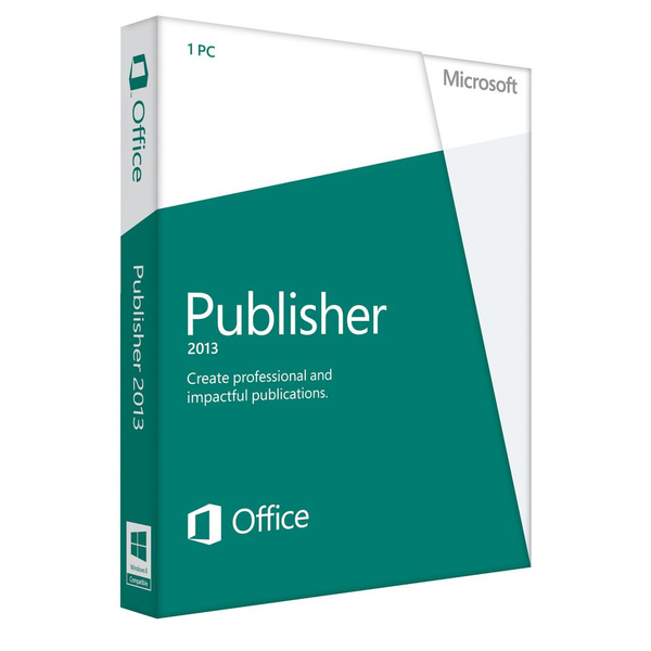 Microsoft Publisher 2013 Windows