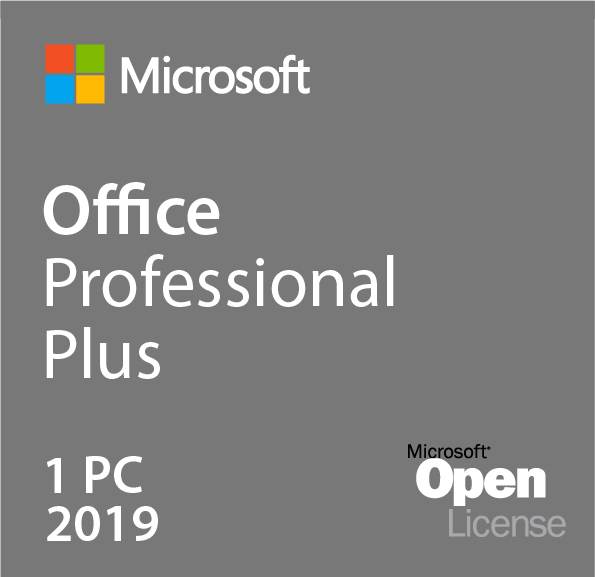 Microsoft Office 2019 Professional Plus Volumenlizenz (MAK)
